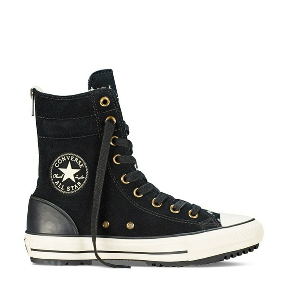 CONVERSE CT HI RISE BOOT SUEDE SIZE 8.5
